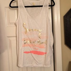 Lilly Pulitzer Luxletic Brooke Tank Top